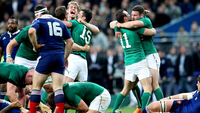 The Kearney brothers played important roles in Ireland's win in Paris in 2014