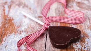 Valentine's Day Choc Fudge Lollies: Louise Lennox