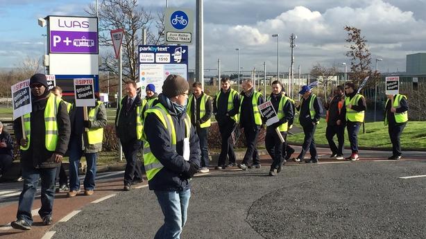 Luas workers strike