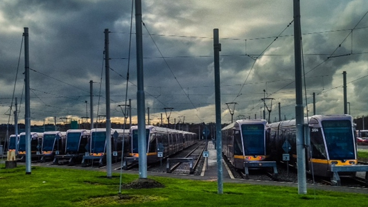 Strike action takes Luas trams off rails for third day