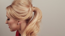 Valentine's Get the Look: The Bardot Ponytail