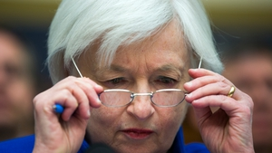 Outgoing US Federal Reserve chief Janet Yellen