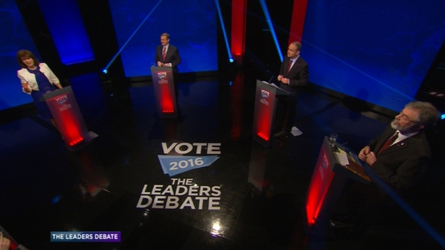 The first leaders' debate of the campaign was largely uneventful