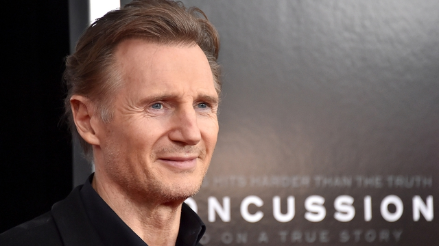 Taken the wrong way: Neeson was joking about girlfriend