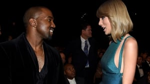 Kanye West and Taylor Swift. Grab some popcorn!