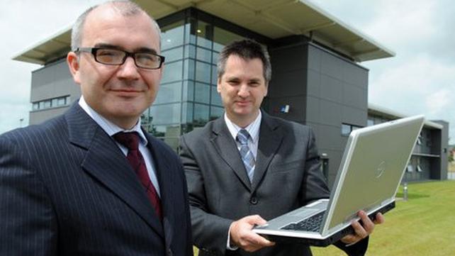 Colum Horgan (left) Aspira founder and director and Pat Lucey (right) Aspira founder and CEO