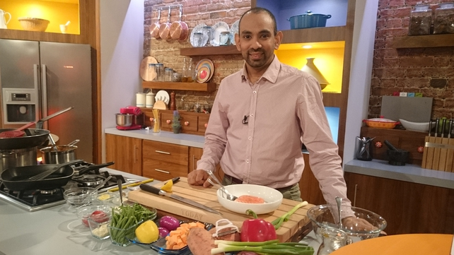 Richy Virahsawmy served up this salmon dish on the Today show - watch back on the RTÉ Player