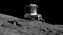 Philae came to rest on a comet in November 2014