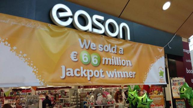 Fourth biggest jackpot win in Ireland