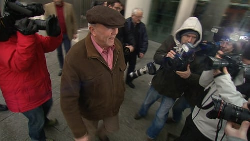 Murphy arrives at court in Dublin