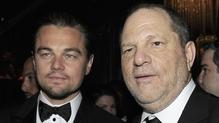 Leonardo DiCaprio and Harvey Weinstein