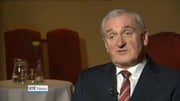 Six One News Web: Ahern says Fine Gael/Labour coalition supported by Independents and smaller parties most likely option after election