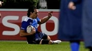 Isa Nacewa touches down for Leinster