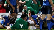 Ireland competed well in the first half with two tries but were well beaten in the second half