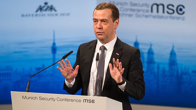 Medvedev criticised the expansion of NATO and EU influence in Eastern Europe
