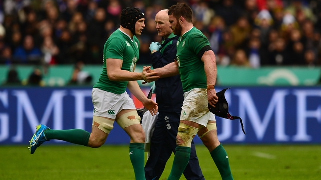 Tommy O'Donnell replaces Sean O'Brien at the Stade de France