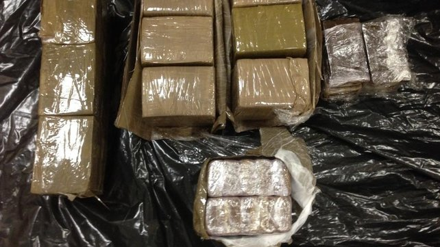 Cannabis resin worth an estimated €126,000 was seized in Watergrasshill, Co Cork