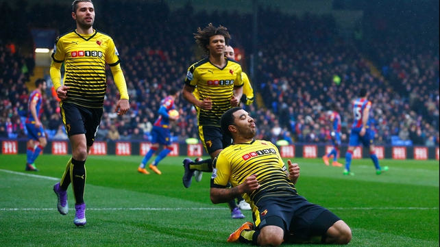 Troy Deeney adds to Pardew's Palace frustration