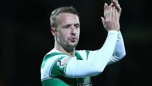 Leigh Griffiths scored just before half-time