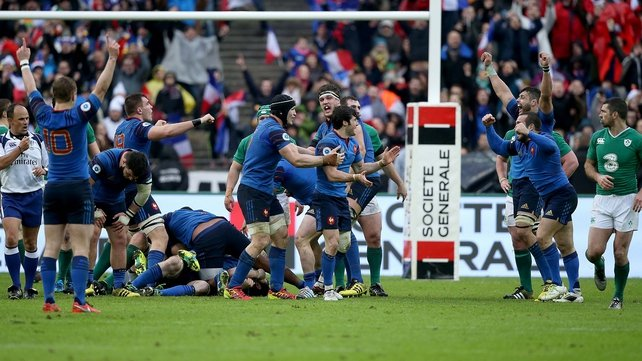 Ireland couldn't put away a poor French team