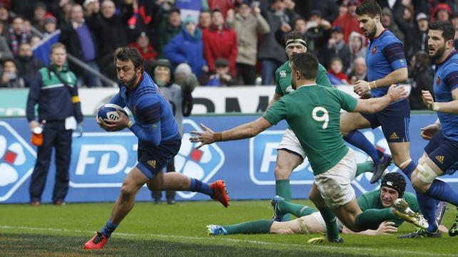Injury-hit Ireland succumb to French power play