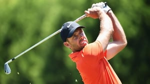 Charl Schwartzel recovered from a poor first day to lead with just the final round to play
