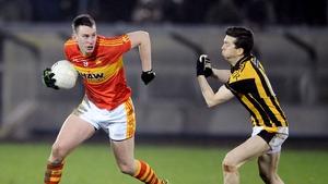 Barry Moran scored two of Castlebar Mitchels' 13 points in Cavan