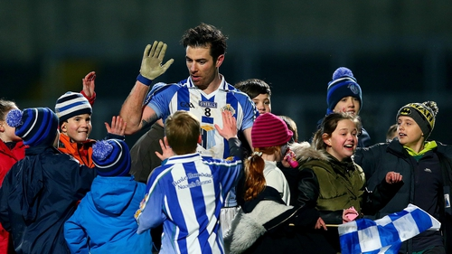 Michael Darragh Macauley was popular among the young Ballyboden supporters after the game