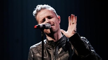 Nicky Byrne performing on the Ray D'Arcy Show