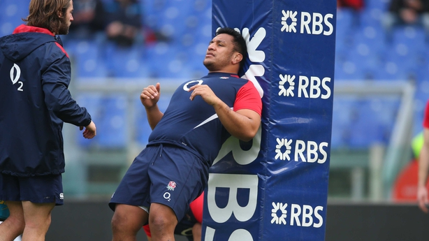 Mako Vunipola is also out at the moment