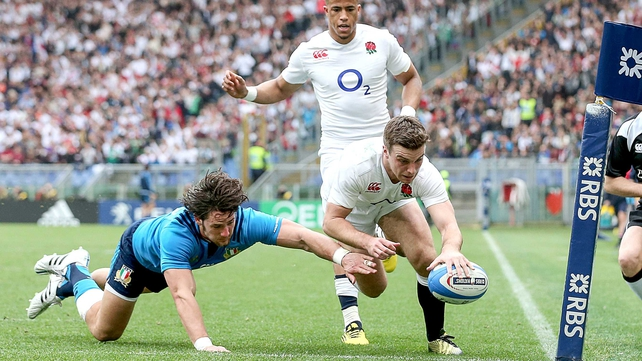 England thrash Italy to build up speed for Ireland