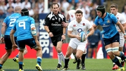 England's Ben Youngs makes a break