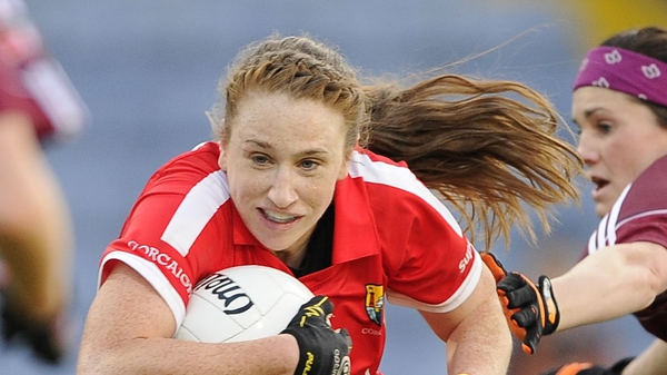 Aisling Hutchings got Cork's first goal in their win over Tyrone