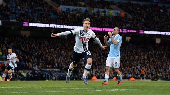 Spurs surge gathers pace with win at Man City