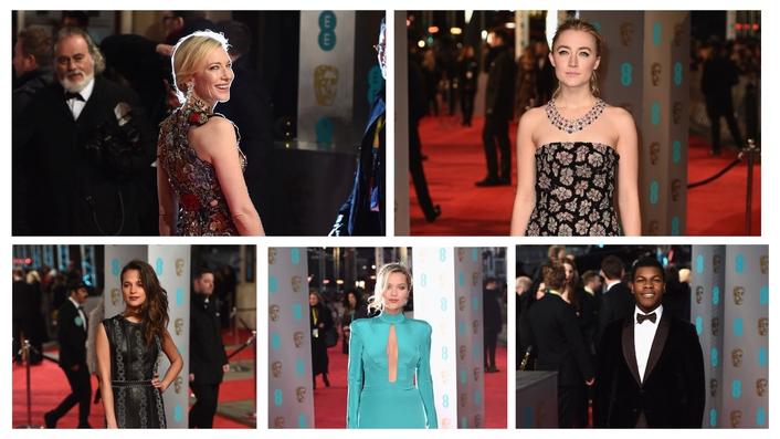 Wins at the BAFTA awards for Irish movies Brooklyn and Room