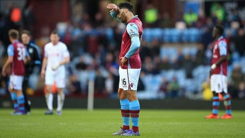 Joleon Lescott's Sunday evening went from bad to worse