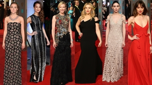 Gothic-tinged glamour ruled the BAFTAs red carpet