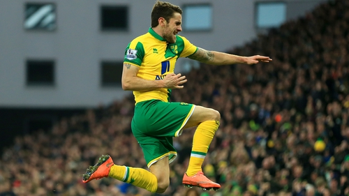 Robbie Brady's goal was one of the highlights of a dramatic weekend in the Premier League