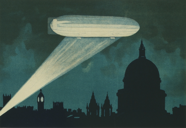 Zeppelin Poster