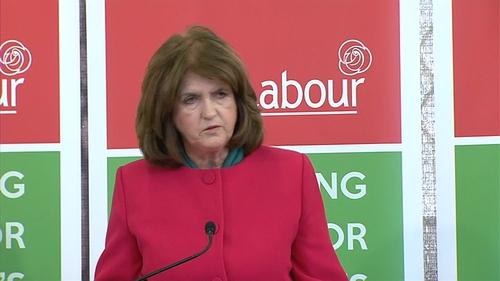 Joan Burton expects the Taoiseach to clarify his position on a possible Fine Gael-Fianna Fáil coalition today