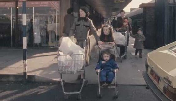 Shopping in Galway 1981