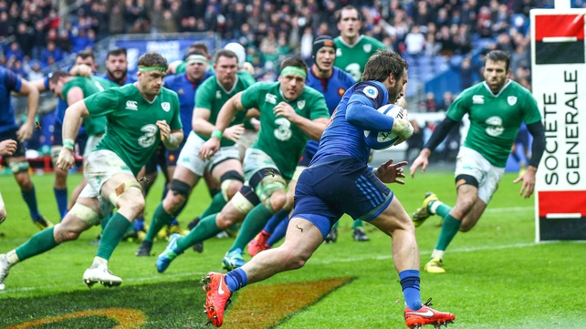 Maxime Médard got that clinching try in Paris