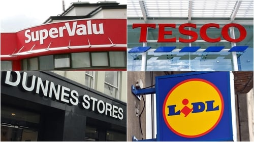 The figures from Kantar Worldpanel show that SuperValu remains Ireland's number one grocery retailer, with 25% of the market