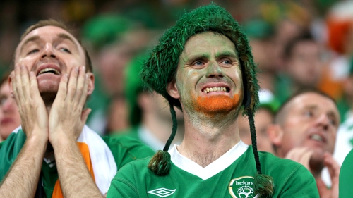 Many Ireland fans received the dreaded rejection email this morning