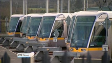 Luas employees to stike on 8 March, St Patrick's Day