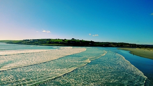 Niall Corcoran sent in this picture of Inchydoney beach in Cork