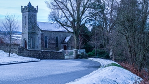 Cloghleagh Church in Co Wicklow (Pic: Tim)