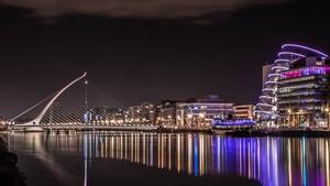 Dublin at night (Pic: Bernard Geraghty)