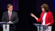 How did the parties perform at the leaders' debate?