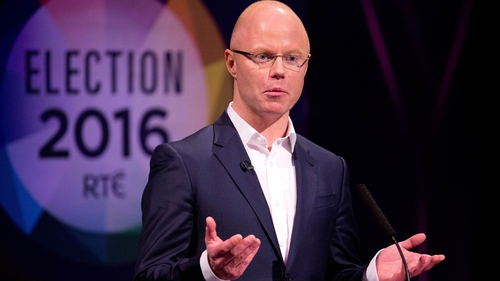 Stephen Donnelly represented the party in election televised debates